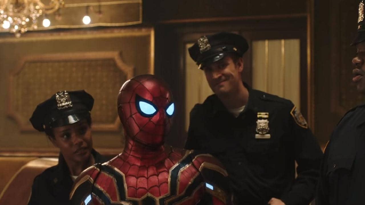 Just your friendly neighbourhood Spider-Man.