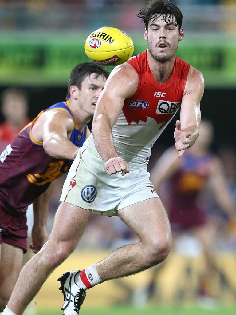 George Hewett in action for the Swans. Pic: Getty Images
