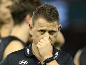 Coach breaks down after sacking
