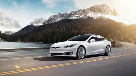 Tesla S 2019 Tesla S model, available in Australia. Electric vehicle (eV). Picture supplied by Tesla for editorial use, April 2019.