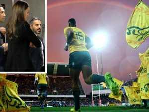 Guilty: Folau's rugby career on knife's edge
