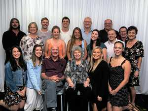 Family gathers for mum's special milestone