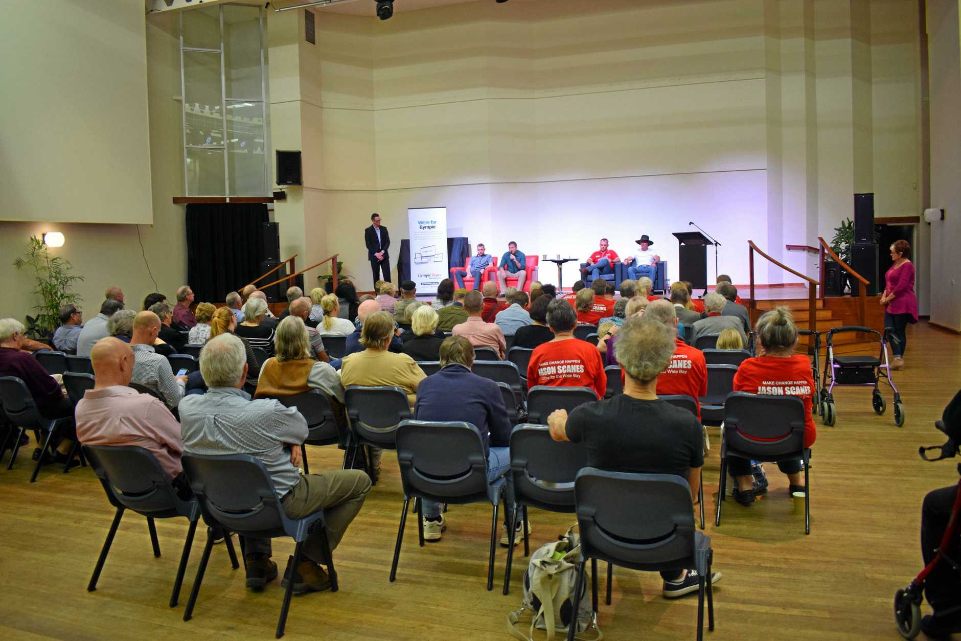 Meet the Candidates evening at the Gympie Civic Centre, Tuesday, May 7, 2019.