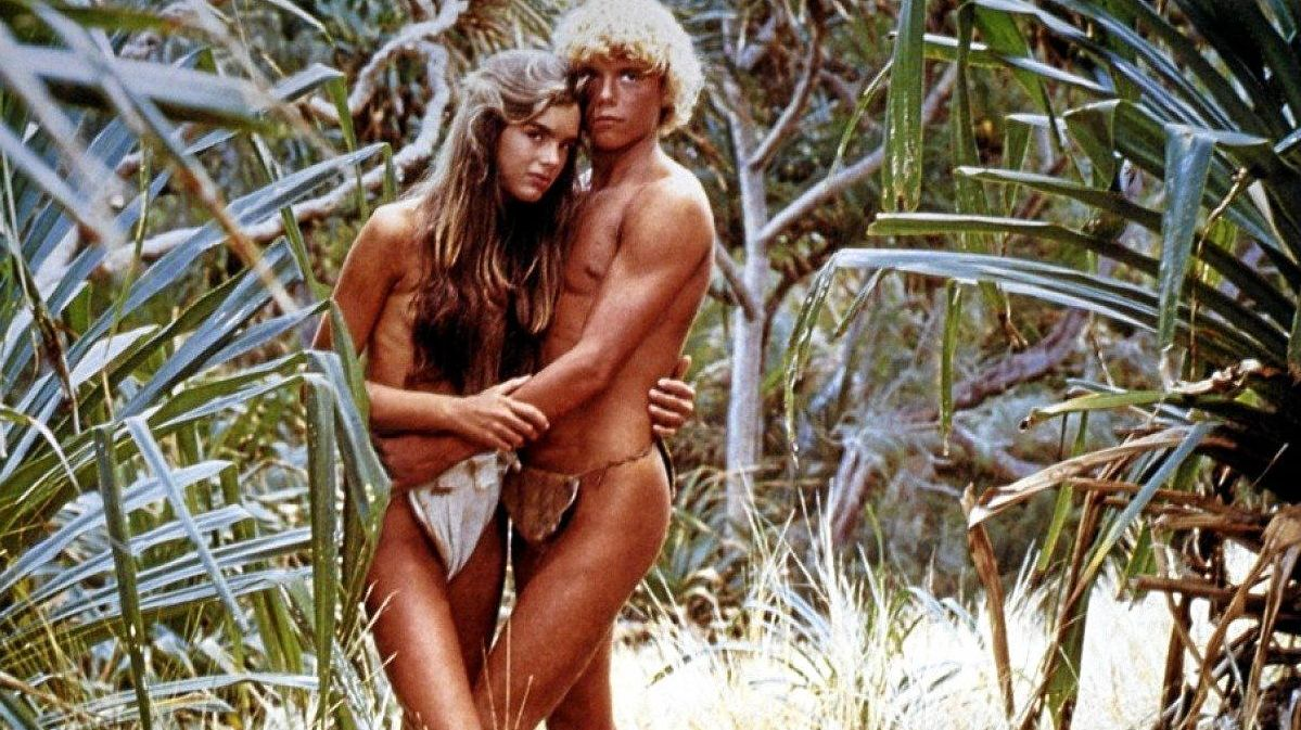 TEENS: Actors Brooke Shields and Christopher Atkins in the 1980 film The Blue Lagoon.