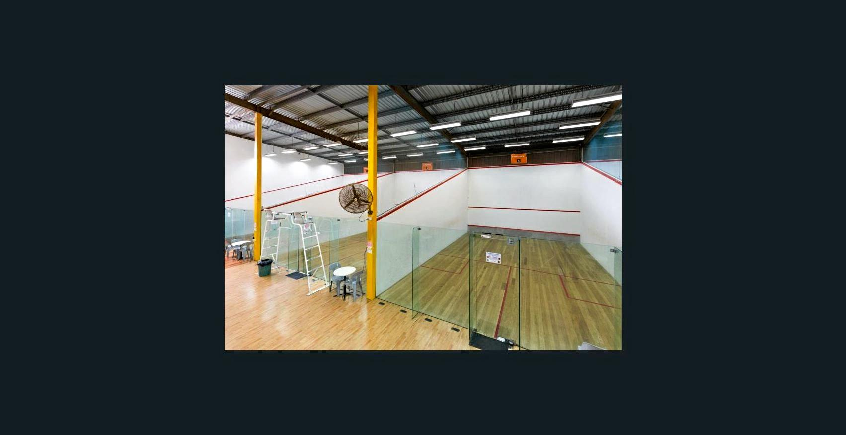 BIG TICKET: Scottvale Squash Centre is up for sale for close to a million dollars.