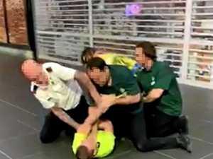 Thief slips on stolen spilled milk, cops Woolies smackdown