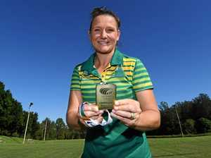 Gympie's Aussie touch queen shows off World Cup gold medal