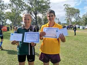 Cousins smash North Burnett cross-country records
