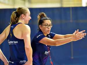 Star Gympie netballer keen for Lightning, Kiwi coach's visit