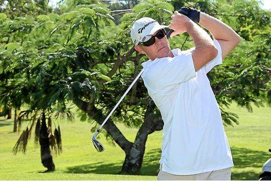 YOU BEAUTY: Peter Simpson has scored two albatrosses at the Nambour Golf Club in two years.