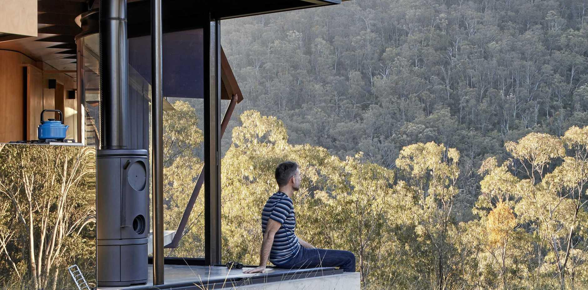 STUNNING VIEW: Bellbird Retreat looks over Condamine Gorge.