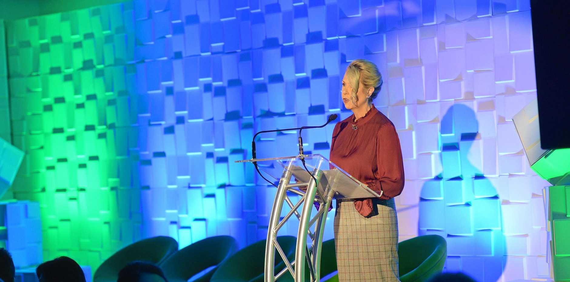 Sunshine Coast Daily's Future Sunshine Coast event. MC Jennifer Swaine.