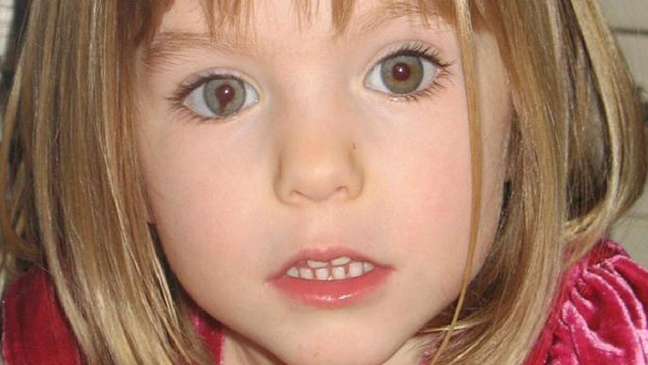 Madeleine McCann went missing in 2007. Picture: AP