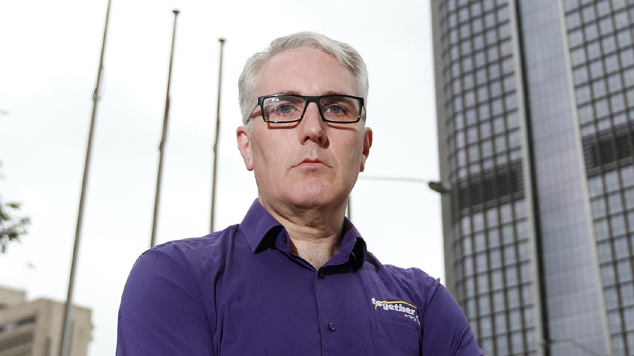 Together Union boss Alex Scott says he never advised members how to vote. File picture