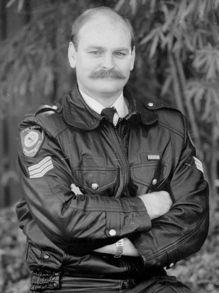 Ron Mason in uniform in 1989. File picture
