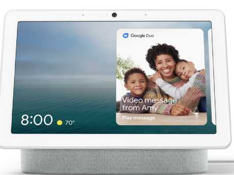 The Google Nest Hub Max.  Picture:  Supplied