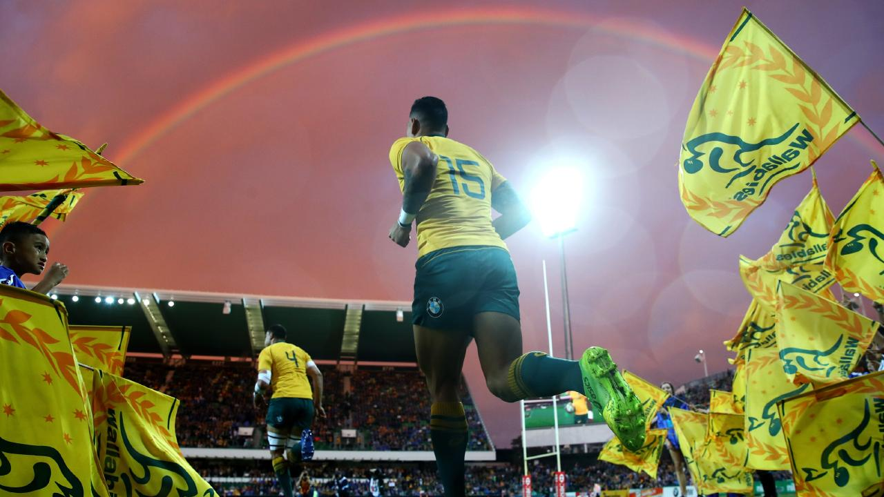 Israel Folau has been dumped by sportswear company ASICS. Picture: Getty