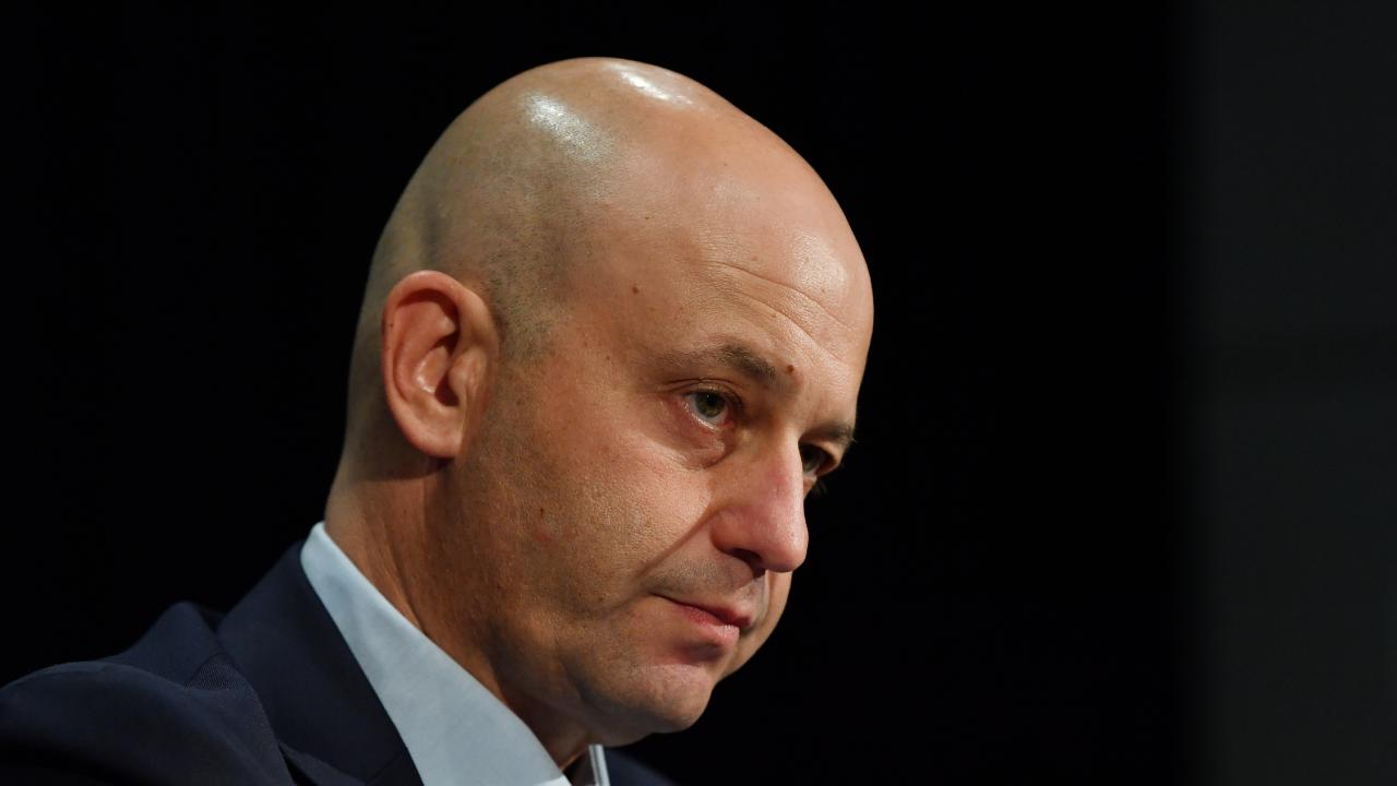NRL CEO Todd Greenberg is privately fuming that the Broncos were a no-show. Picture: AAP Image/Dean Lewins