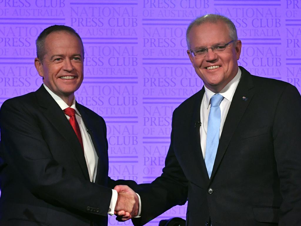 "Editor of GQ Australia, Mike Christensen said neither Mr Shorten or Mr Morrison had any ""notable style"". Picture: AAP"
