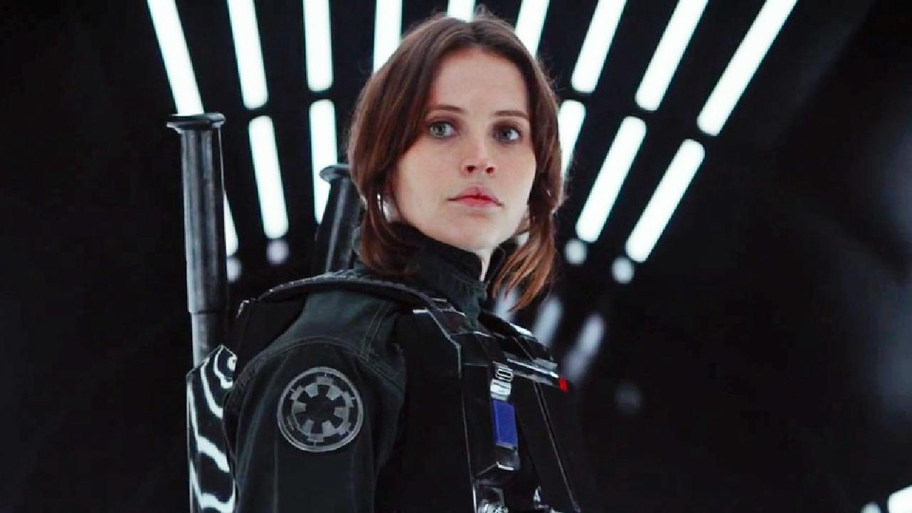 Felicity Jones in Rogue One: A Star Wars Story.