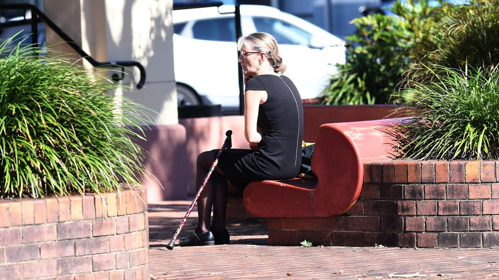 Alstonville woman Julianne Marree Butler outside Ballina Court.