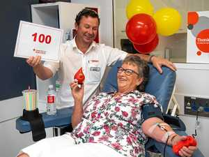 May racks up a century of life saving donations