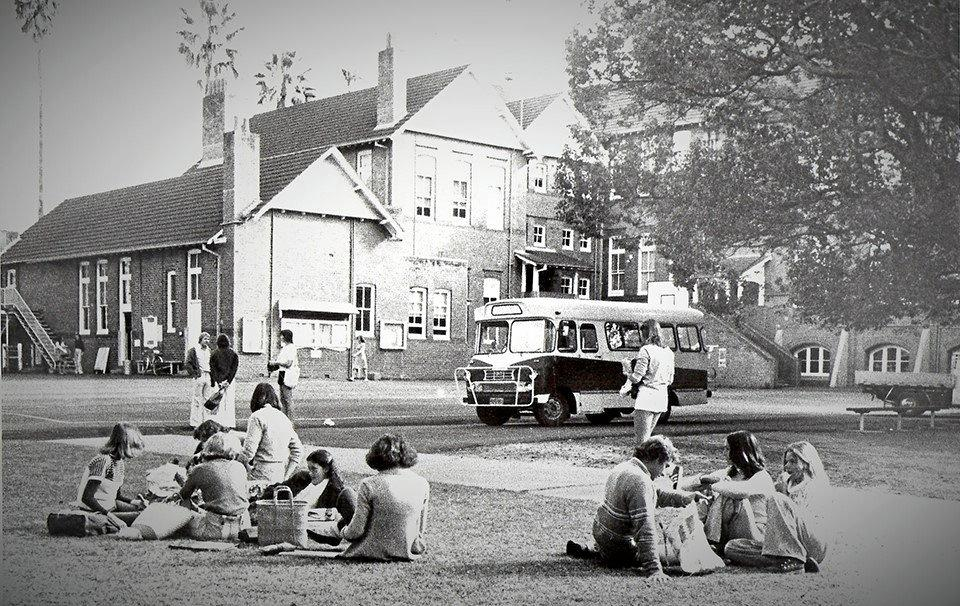 Lismore Quadrangle as it was in the 1970s.
