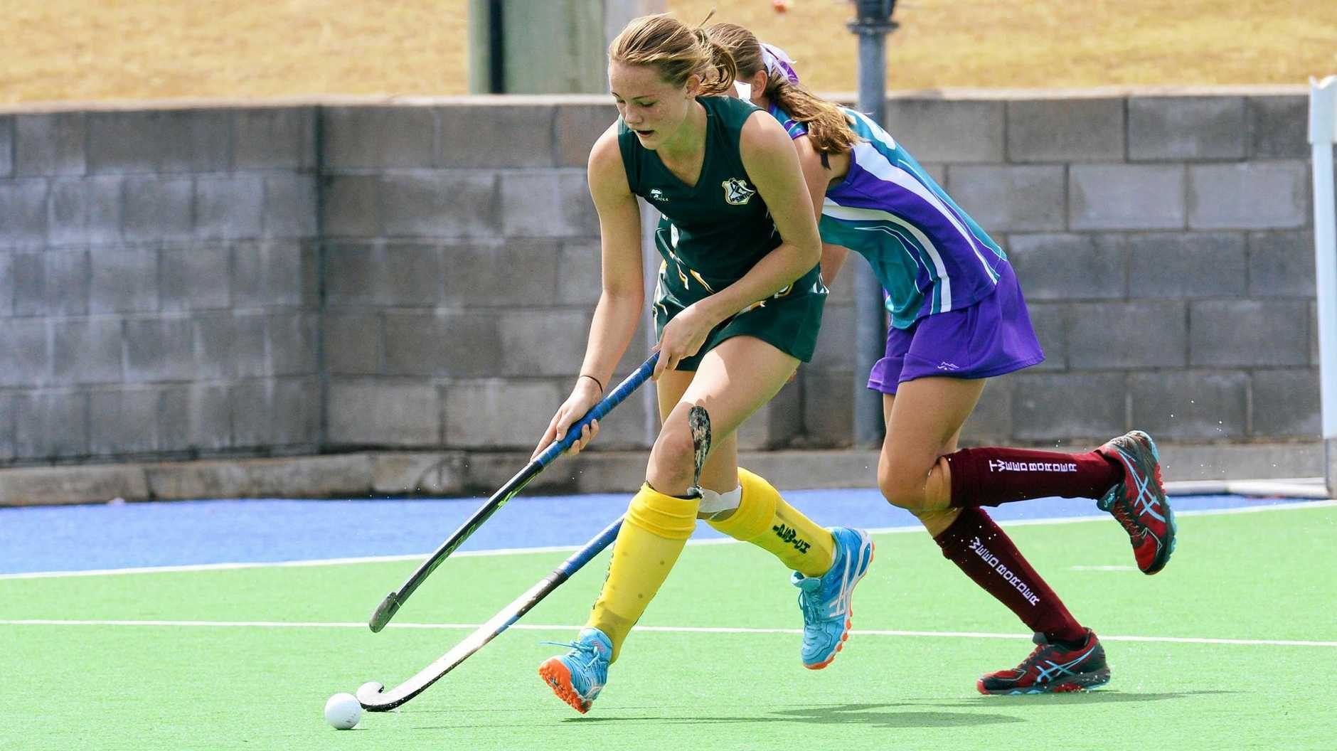 South West Lumberjills hockey player Jordn Office has been selected in the Queensland under-21 and Australia Futures squads.
