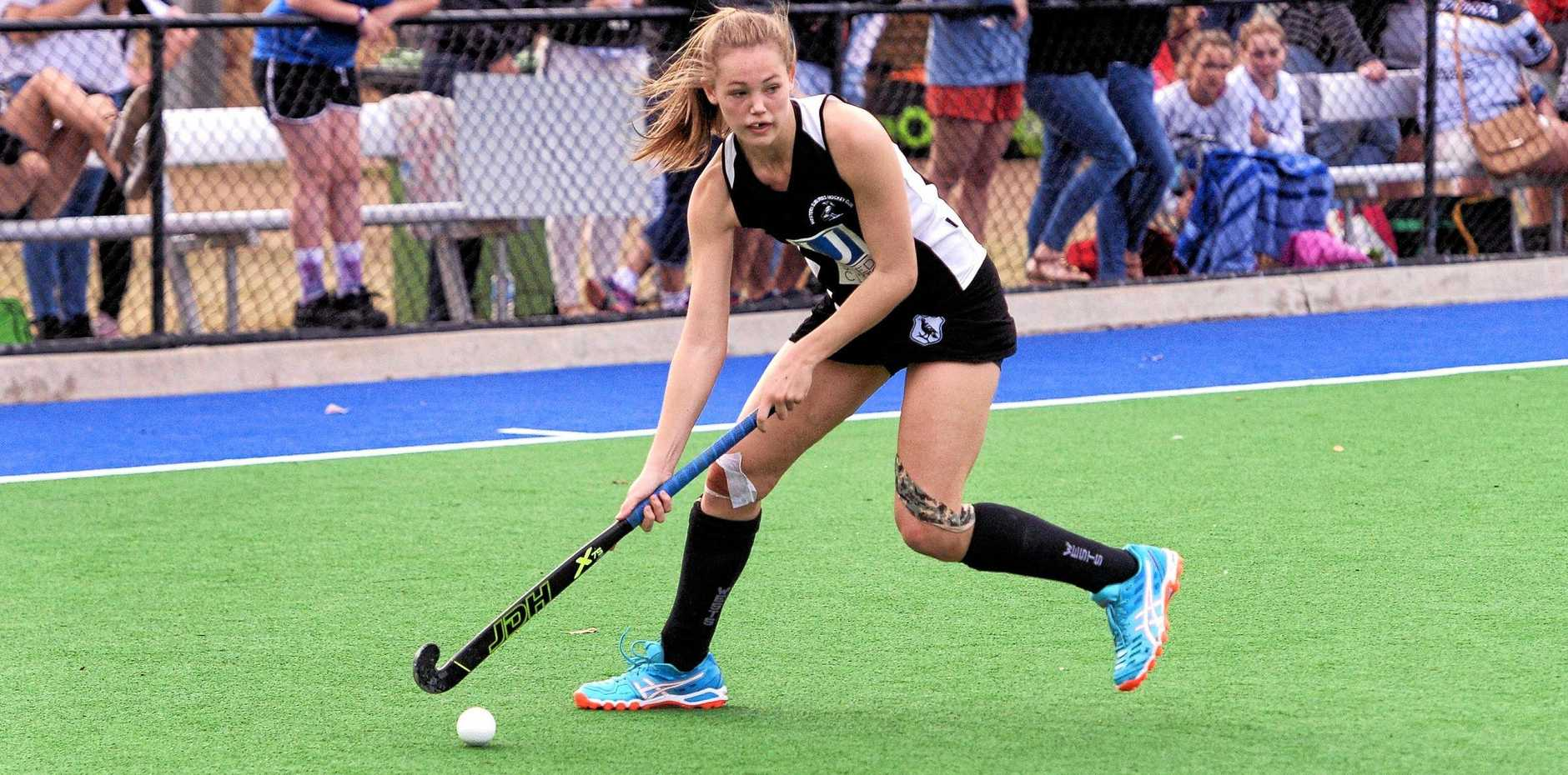 Exciting hockey prospect Jordn Office plans her next move playing for Wests in the Ipswich competition.