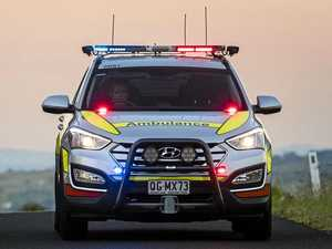 One hospitalised after two-vehicle peak-hour crash