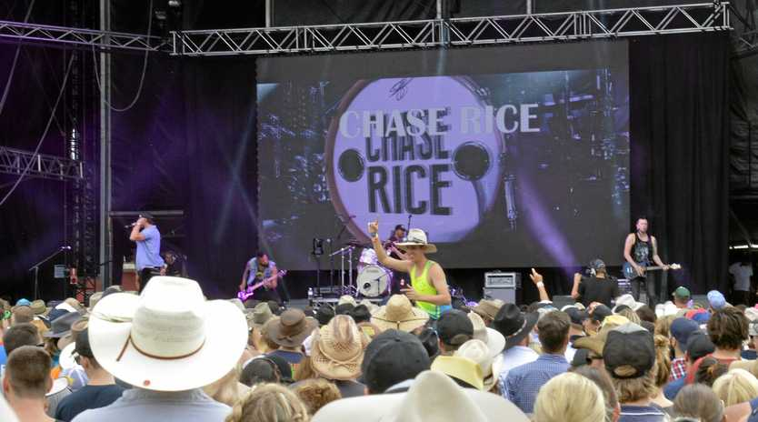 The international act that will flavour this year's Gympie music muster.