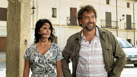 PARTNERS  ON AND OFF-SCREEN: Penelope Cruz and Javier Bardem in  Everybody Knows,  at Maleny Community Centre .