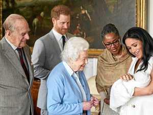 Meet our royal Burnett baby 'twin'