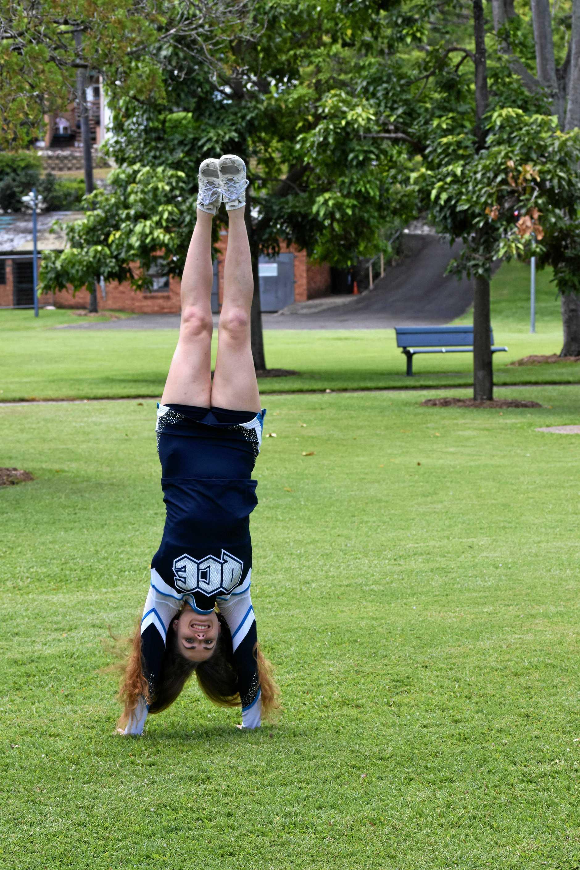 Gympie cheerleader - Eliza Parker
