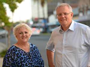 BREAKING: ScoMo lands in Rockhampton