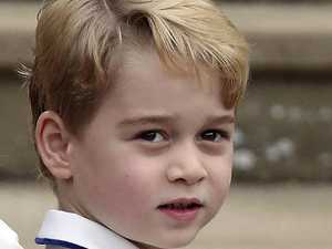 How Prince George let baby name slip