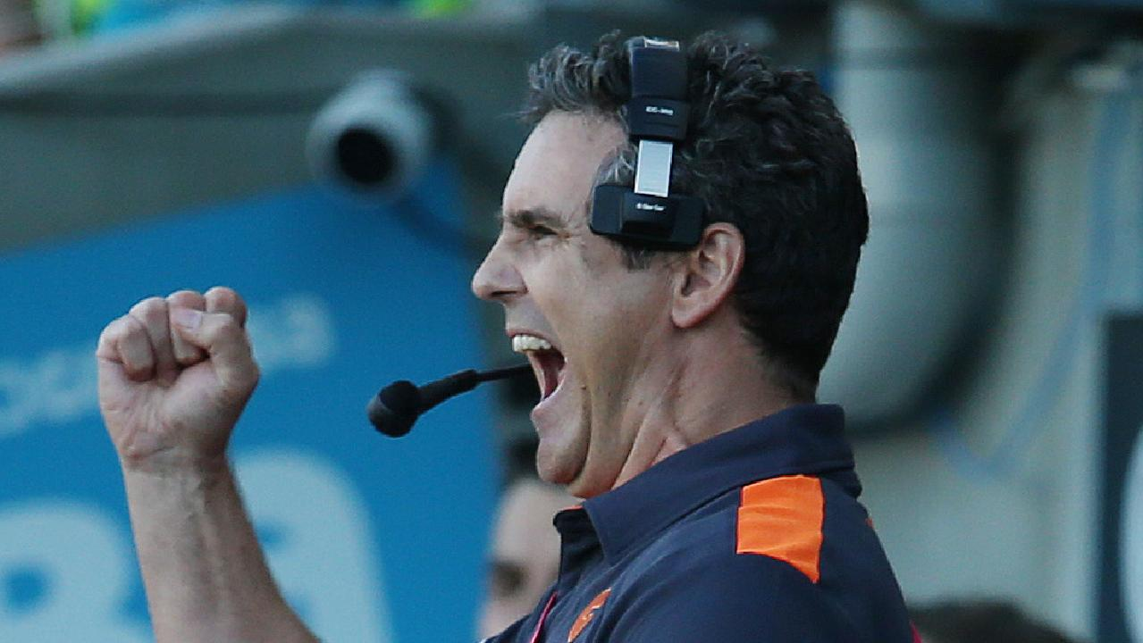 Leon Cameron has GWS primed for success in the grand final. Picture: Michael Klein.