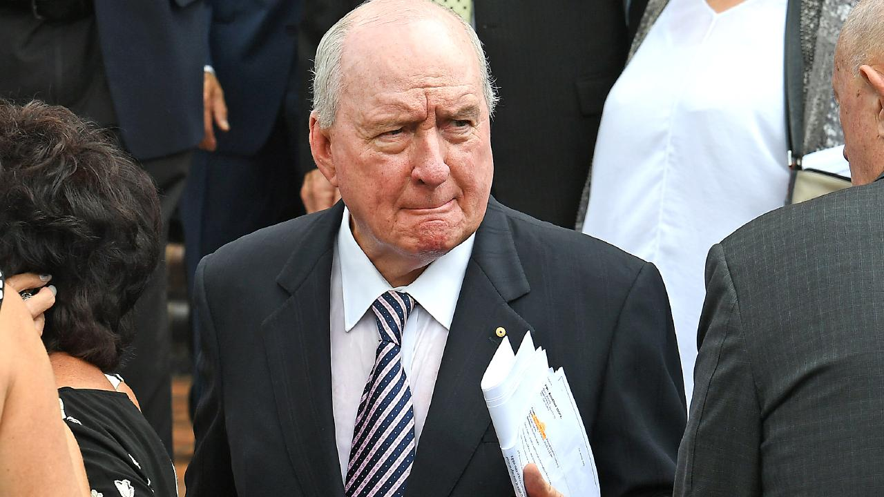 Alan Jones copped a drive-by from Clyde Rathbone.