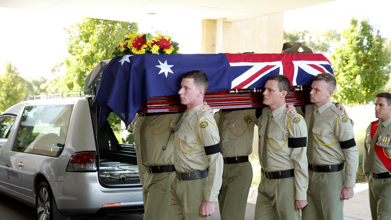 The defence department has been charged over the death of Private Jason Challis. Picture: Alison Wynd