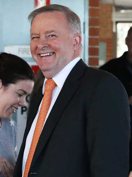Anthony Albanese will announce plans for a 1748km high-speed rail line. Picture: Liam Kidston