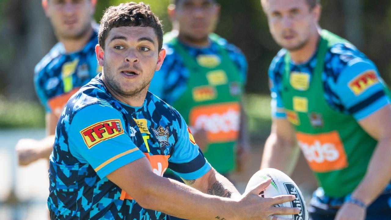 Ash Taylor still harbours Origin ambitions. Picture: Gold Coast Titans