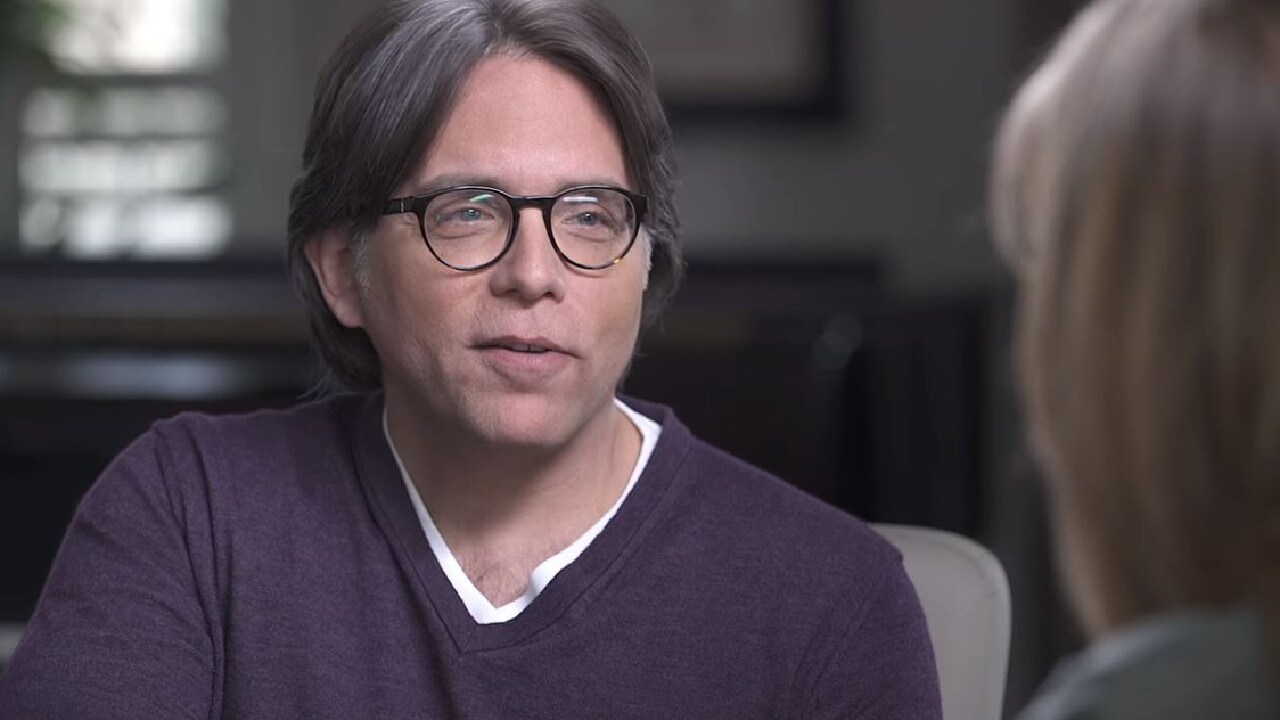 Cult leader Keith Raniere. Picture: Keith Raniere Conversations/Youtube