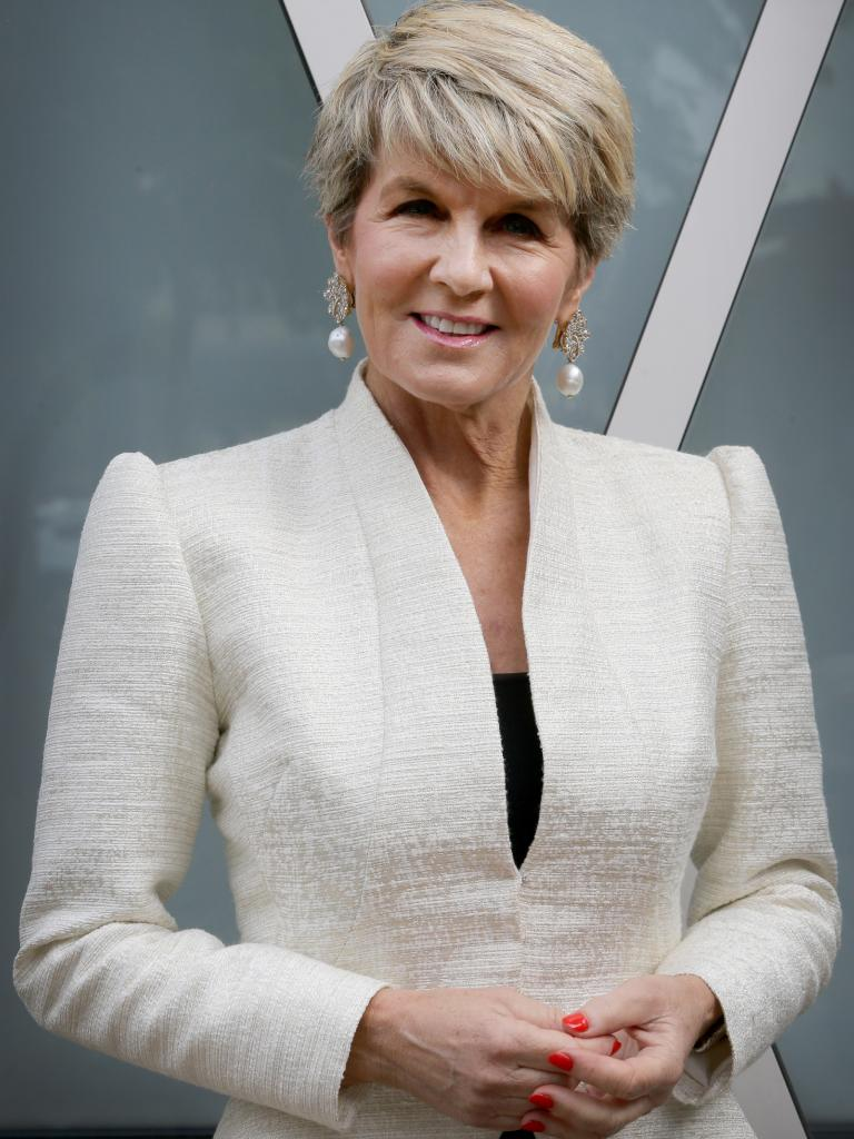 Julie Bishop will be Australia's new Washington Ambassador? Picture: AAP Image/Kelly Barnes