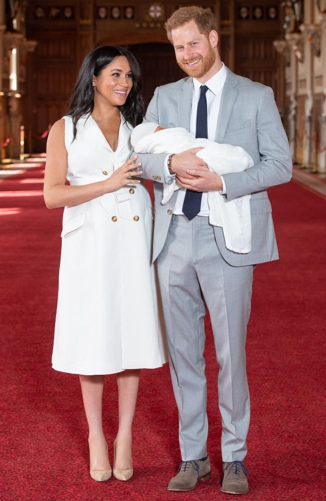 Meghan said motherhood was 'magic' and said she had 'the two best guys in the world'. Picture: Dominic Lipinski - WPA Pool/Getty Images