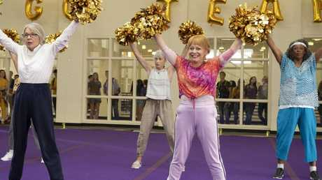 Diane Keaton and Jacki Weaver in a scene from the movie Poms. Roadshow Pictures.