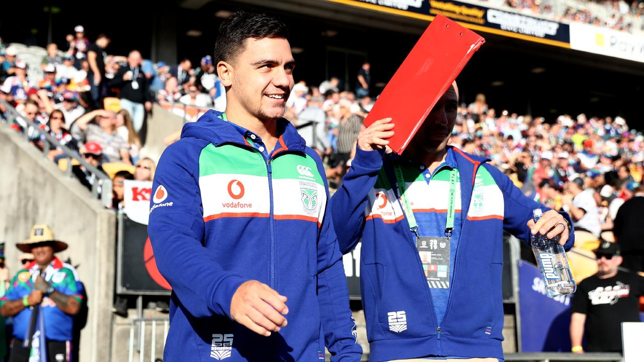 Kodi Nikorima will make his debut for the Warriors. (Photo by Hannah Peters/Getty Images)