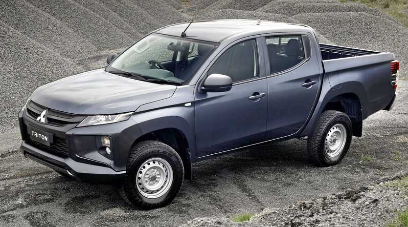 The 2019 Triton GLX Double Cab.