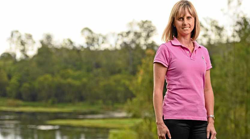 Independent candidate for Blair Simone Karandrews.