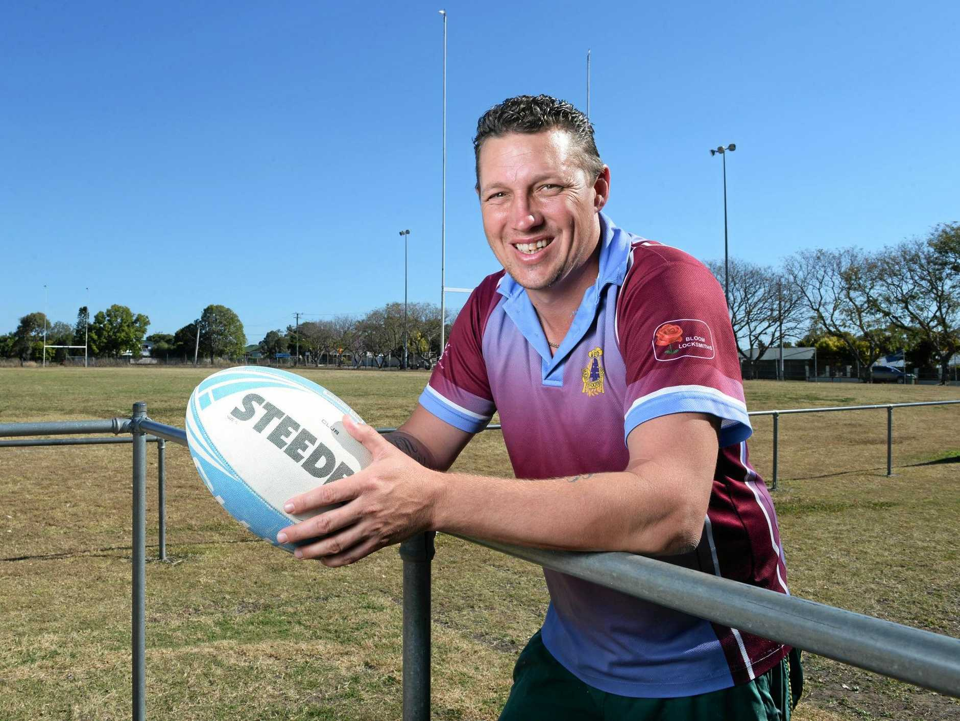 BETTING ON SUCCESS: West End coach Jae Woodward hopes to be shouted some liquid refreshments after Sunday's game.