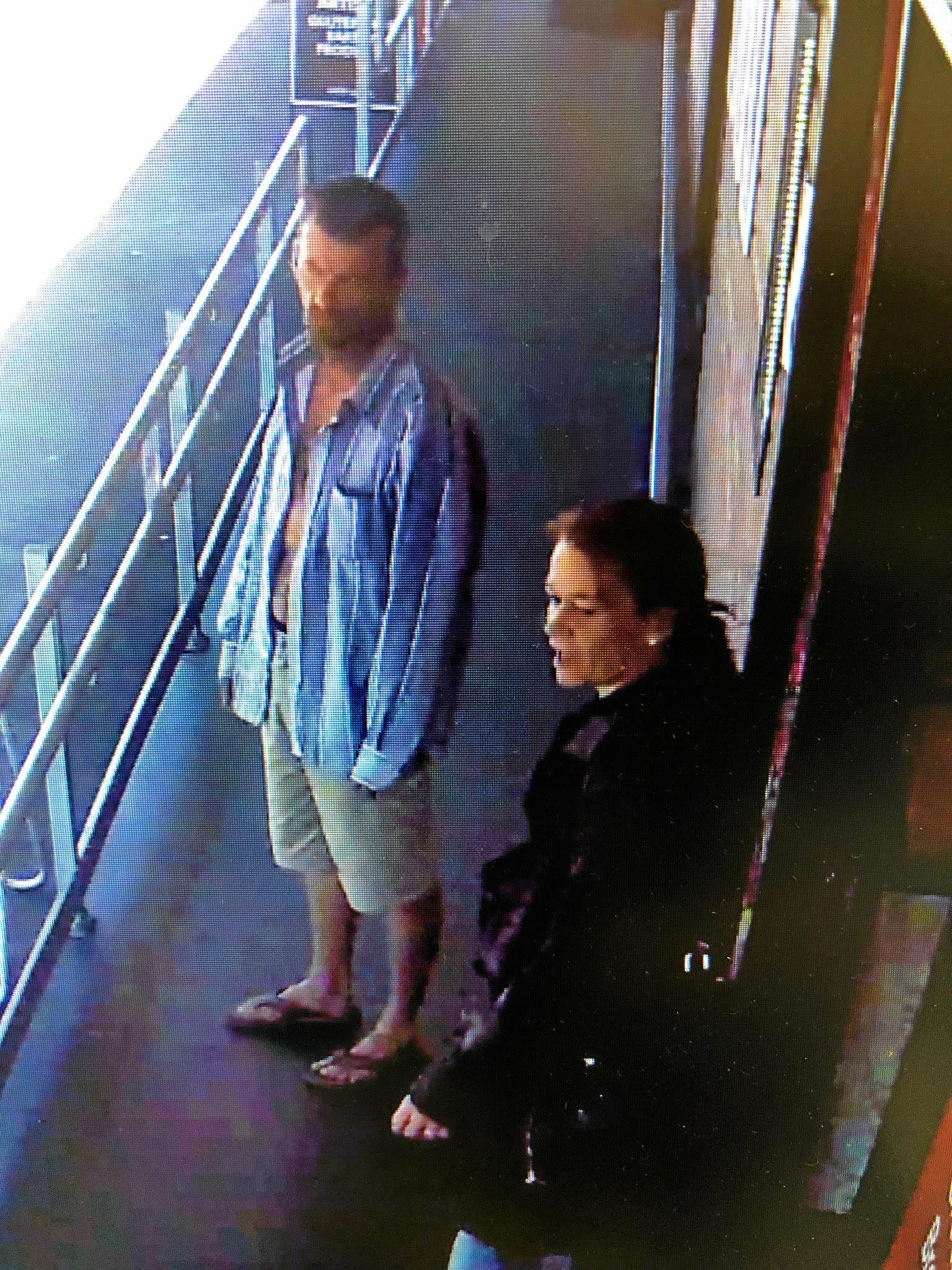 A  thieve and an accomplice were captured on camera at Spar Rockhampton on Fitzroy St stealing three packets of bacon and putting them down his pants.